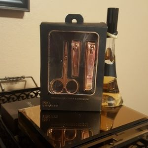 Perfusion Clippers and scissors Rose Gold set